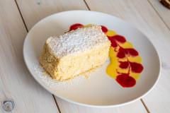 Десерт «Наполеон с заварным кремом»